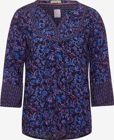 CECIL Bluse in royalblau / himmelblau / dunkelblau / pastelllila / schwarz, Produktansicht