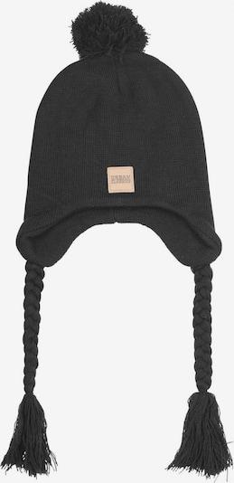 Urban Classics Mütze ' Pompom Knit Beanie ' in schwarz, Produktansicht