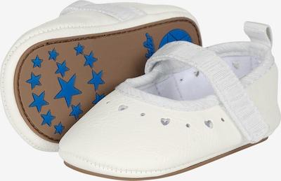 STERNTALER Pantoufle en blanc, Vue avec produit