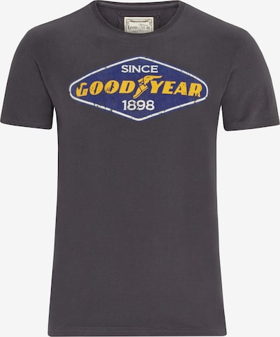 GOODYEAR T-Shirt EAST LAKE mit coolem Logo-Print in grau, Produktansicht