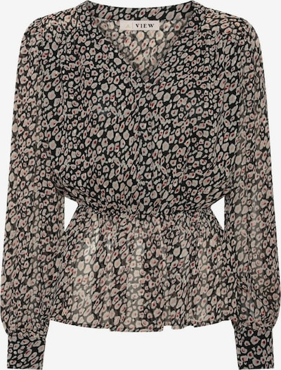 A-VIEW Longbluse 'Florita' in braun, Produktansicht