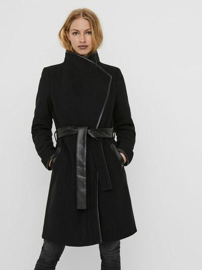 VERO MODA Mantel 'VMWATERFALL CLASS' in schwarz, Modelansicht