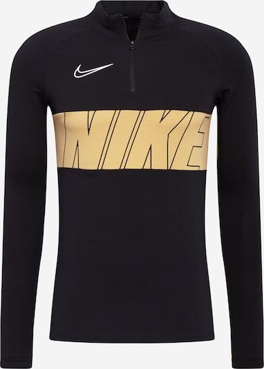 NIKE Bluzka sportowa w kolorze beżowy / czarnym, Podgląd produktu
