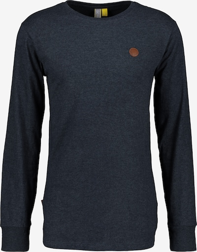 Alife and Kickin Shirt 'Alex' in blau, Produktansicht