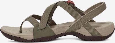 TEVA Sandalen in oliv, Produktansicht
