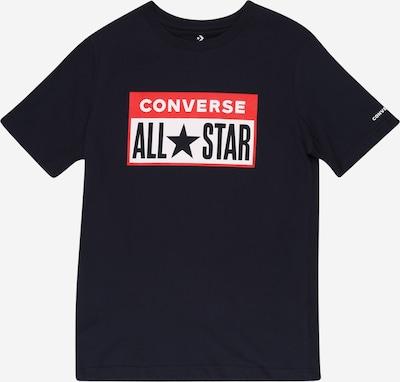 CONVERSE Shirt in dunkelblau / rot / schwarz / weiß, Produktansicht