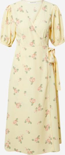 GLAMOROUS Kleid in gelb / grasgrün / pink, Produktansicht