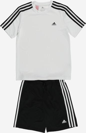 ADIDAS PERFORMANCE Chándal en negro / blanco, Vista del producto