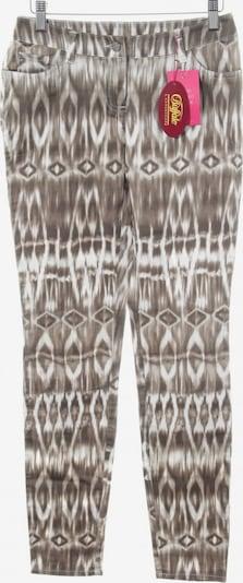 Buffalo London Five-Pocket-Hose in XS in bronze / weiß, Produktansicht