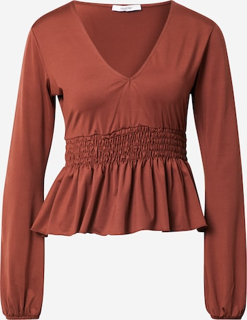 ABOUT YOU Shirt 'Zoey' in Brown