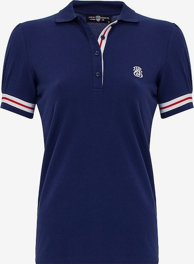 Jimmy Sanders Shirt in marine / rot / weiß, Produktansicht
