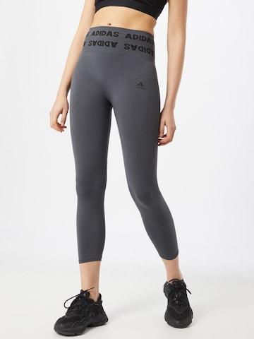 ADIDAS PERFORMANCE Sporthose in Grau