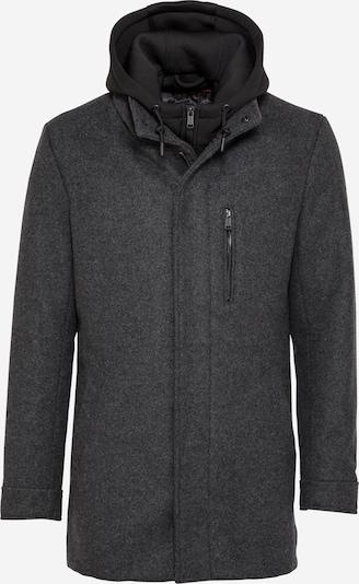 GUESS Funkcionalna jakna | temno siva / črna barva, Prikaz izdelka