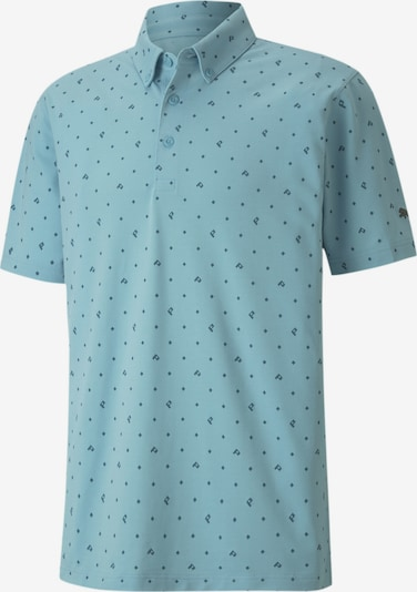 PUMA Functioneel shirt in de kleur Lichtblauw, Productweergave