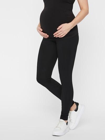 MAMALICIOUS Leggings in schwarz, Modelansicht