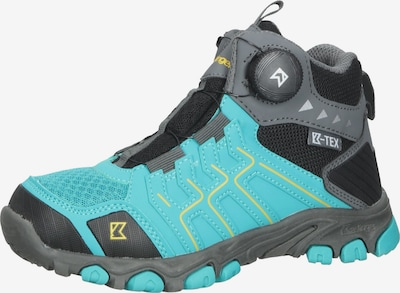 Kastinger Boots in Turquoise / Yellow / Grey / Black / White, Item view