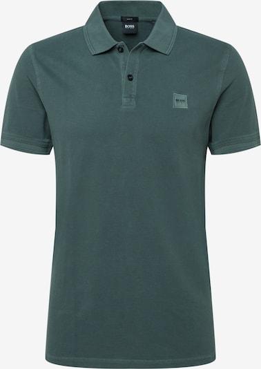 BOSS Casual T-Krekls 'Prime', krāsa - tumši zaļš, Preces skats
