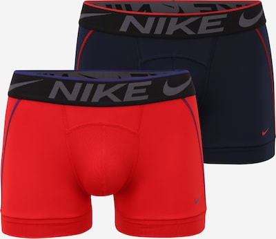 NIKE Sous-vêtements de sport en bleu foncé / rouge, Vue avec produit