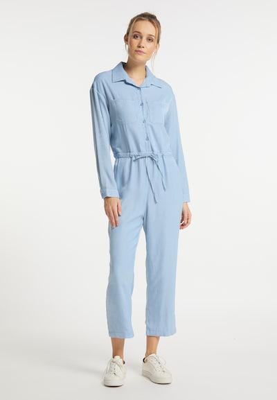 DreiMaster Vintage Jumpsuit in de kleur Lichtblauw, Modelweergave
