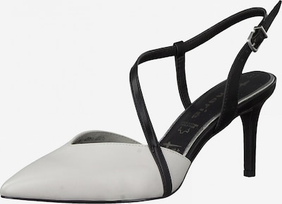TAMARIS Sandal in black / white, Item view