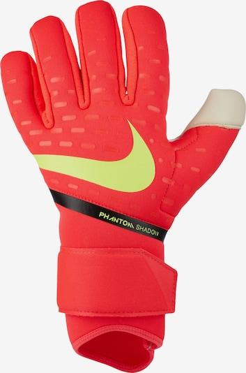NIKE Handschuh in neongelb / rot / schwarz / weiß, Produktansicht