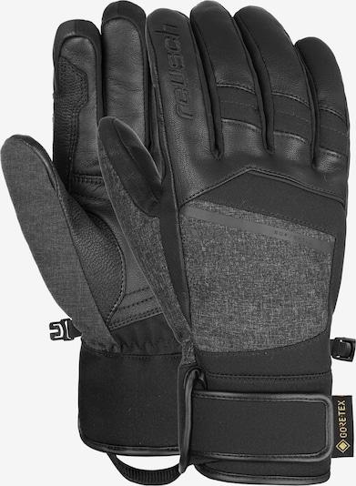 REUSCH Fingerhandschuhe 'Beat GORE-TEX®' in schwarz / schwarzmeliert, Produktansicht