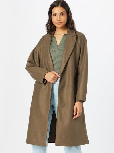 VERO MODA Between-Seasons Coat in Brown, View model
