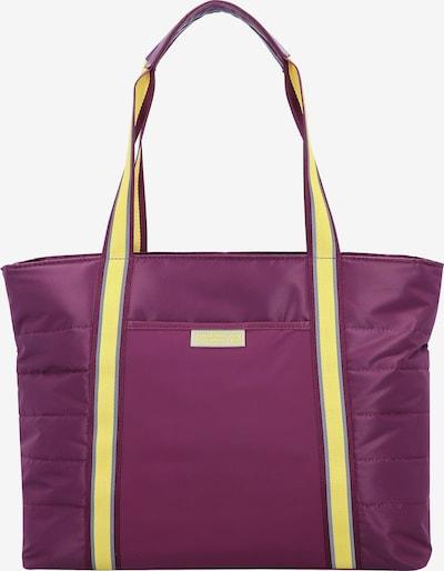 American Tourister Tasche in gelb / lila, Produktansicht