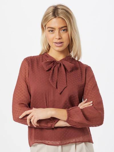 ABOUT YOU Bluse 'Jenna' in rostbraun, Modelansicht