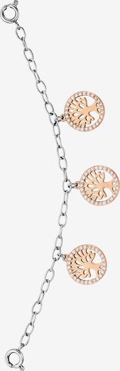 Julie Julsen Uhrencharmeinhänger in gold / silber, Produktansicht