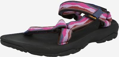 Sandale TEVA pe albastru porumbel / mov deschis / roz / roz pudră, Vizualizare produs