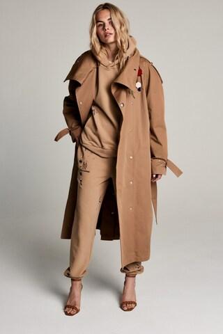 Manteau mi-saison 'Wikitoria' ZOE KARSSEN en marron