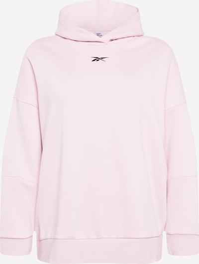 Reebok Sport Sportsweatshirt in rosa / schwarz, Produktansicht
