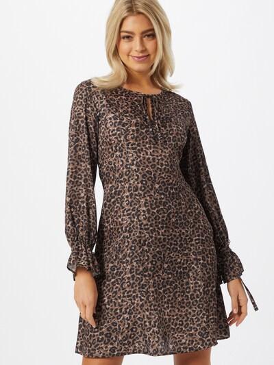 NU-IN Kleid in braun / schwarz, Modelansicht