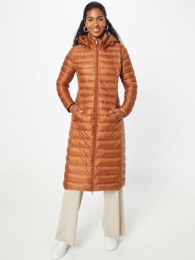 JOTT Manteau d'hiver en caramel, Vue avec modèle