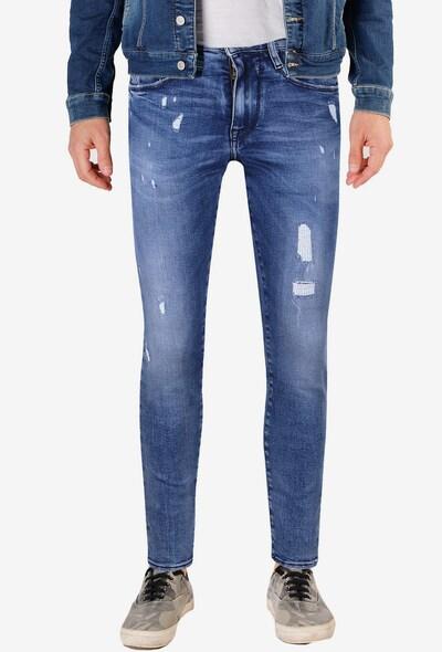 Le Temps Des Cerises Jeanshose in blau, Modelansicht