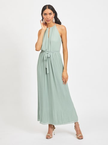 VILA Evening Dress 'KATELYN' in Green