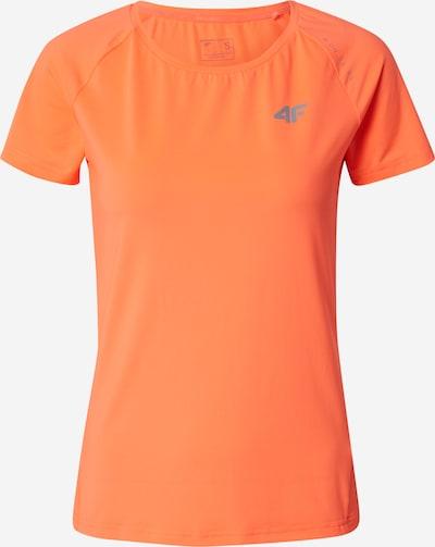 4F Sportshirt in neonorange, Produktansicht