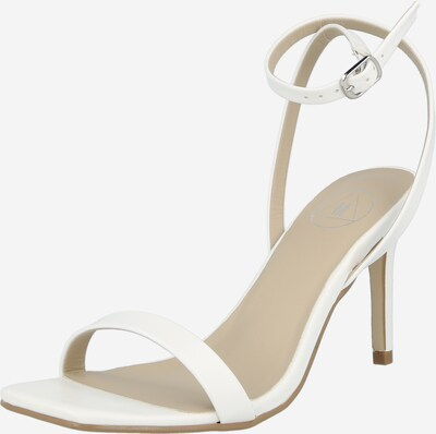 Missguided Strap sandal 'BARELY THERE' in White, Item view
