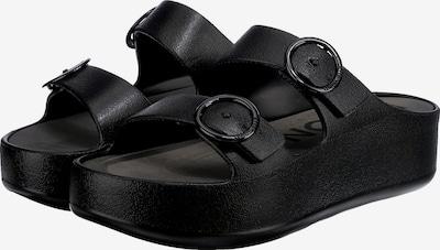 LEMON JELLY Pantolette 'Gaia 01' i svart, Produktvy