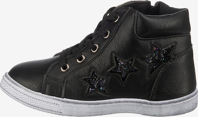 Happy Bee Sneakers in Black, Item view