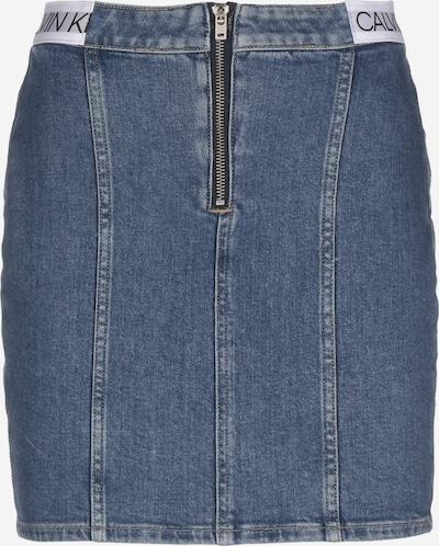 Calvin Klein Jeans Rock ' Dart ' in blau, Produktansicht