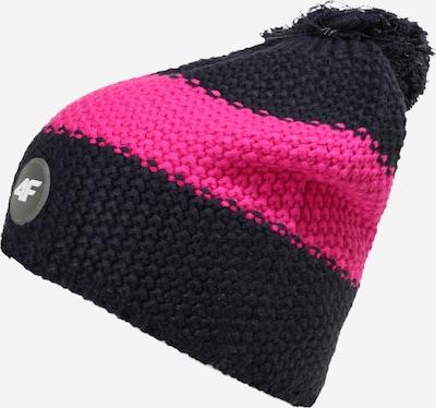 4F Sportmuts in de kleur Navy / Pink, Productweergave