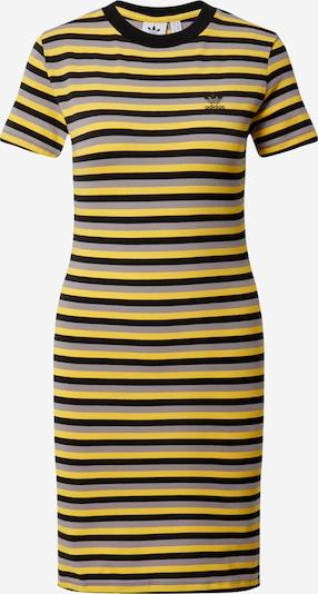 ADIDAS ORIGINALS Jurk in de kleur Geel / Grijs / Zwart, Productweergave