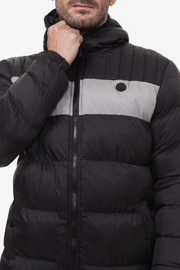 Kangol Tussenjas 'LENNON MENS JACKET' in de kleur Grijs / Zwart, Productweergave