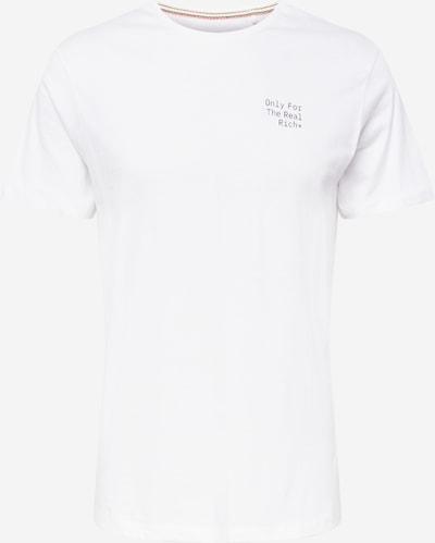 BLEND T-Shirt in schwarz / weiß, Produktansicht