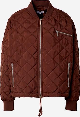 LeGer by Lena GerckePrijelazna jakna 'Sabrina' - smeđa boja
