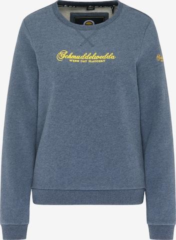 Schmuddelwedda Sweatshirt in Blue