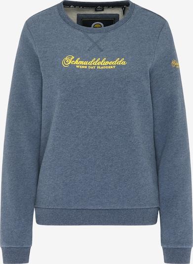 Schmuddelwedda Sweatshirt in Blue / Yellow, Item view
