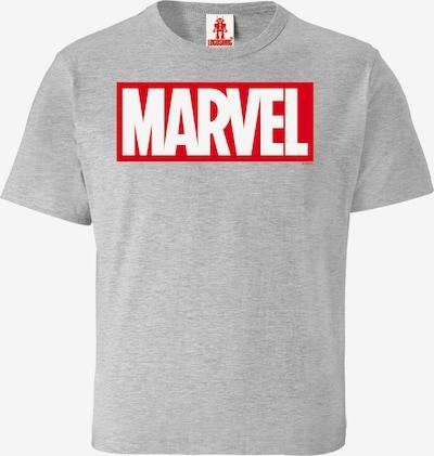 LOGOSHIRT T-Shirt 'Marvel Comics' in grau, Produktansicht